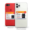 Emergency Alert Sticker - iPhone 6 & 7 + iPhone 8 and above