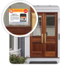 Emergency Alert Sticker - Home