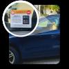 Emergency Alert Sticker - Car