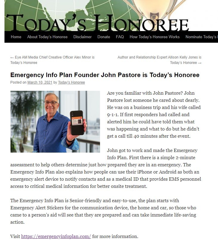 John Pastore Interview